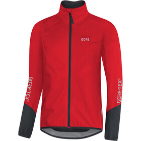 GORE WEAR C5 Gore-Tex Active Jas Heren, red/black